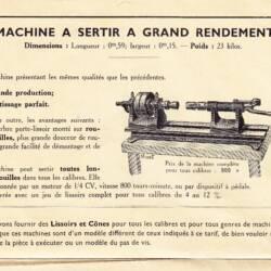 FR AUB BC 72 Machine a Grand Rendement