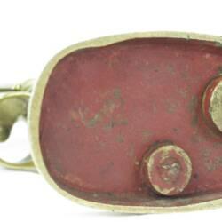 UK HAW CAP A63½ Brass pusher (3)