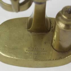 UK HAW CAP A63½ Brass pusher (4)